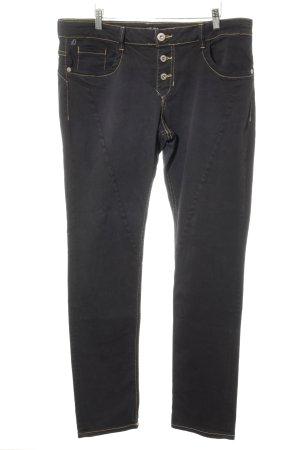 s.Oliver Slim Jeans schwarz schlichter Stil