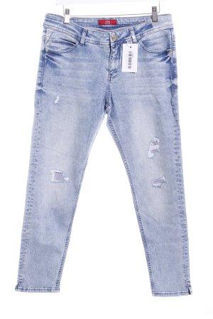 """s.Oliver Slim Jeans """"Shape Ankle"""" blassblau"""