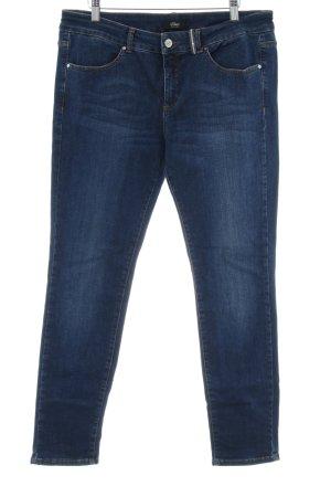 "s.Oliver Slim Jeans ""Sienna"" dunkelblau"