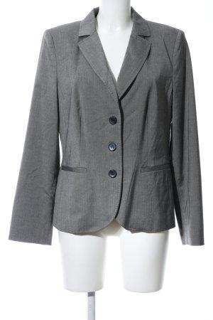 s.Oliver Tuxedo Blazer light grey flecked elegant