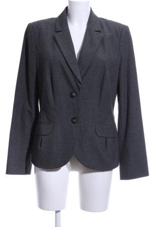 s.Oliver Tuxedo Blazer light grey flecked business style