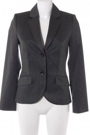 s.Oliver Smoking-Blazer grau-anthrazit Nadelstreifen Business-Look