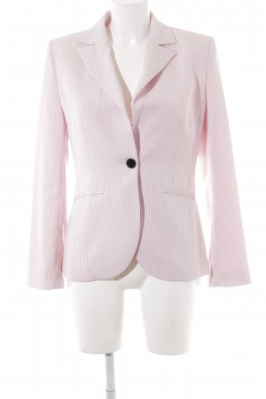 s.Oliver Tuxedo Blazer light pink-black striped pattern