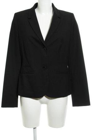 s.Oliver Blazer de esmoquin negro elegante