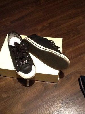 s.Oliver Sneaker schwarzes Leder