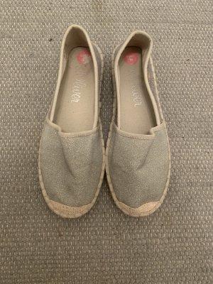 S.Oliver Sommer Schuhe in Silber Grau Neuwertig