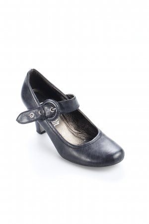 s.Oliver Spangen-Pumps anthrazit Casual-Look