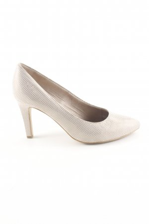 s.Oliver Spitz-Pumps wollweiß Business-Look