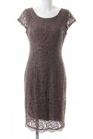 s.Oliver Lace Dress brown casual look