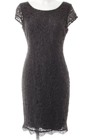 s.Oliver Spitzenkleid dunkelgrau Elegant