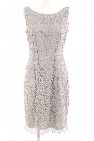 s.Oliver Vestido de encaje gris claro elegante