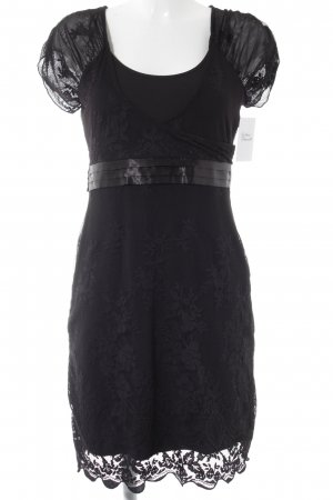 s.Oliver Lace Dress black elegant