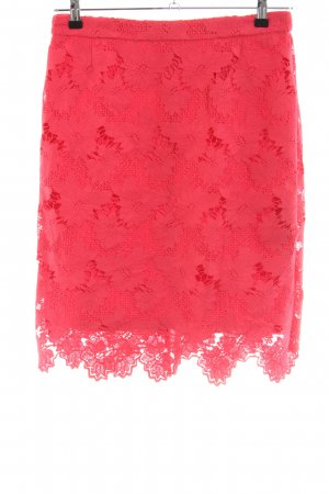 s.Oliver Lace Skirt red casual look