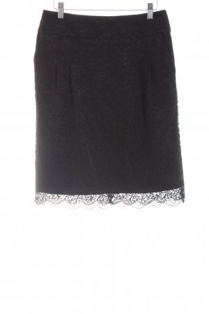 s.Oliver Lace Skirt black casual look