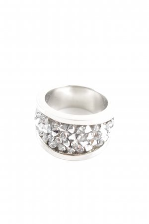 s.Oliver Statement Ring silver-colored casual look