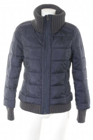 s.Oliver Steppjacke dunkelblau Steppmuster Casual-Look