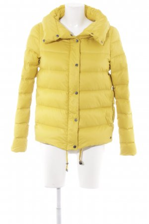 s.Oliver Steppjacke gelb Casual-Look