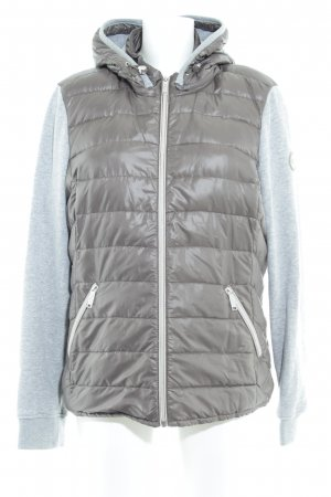s.Oliver Steppjacke grau-taupe meliert Casual-Look