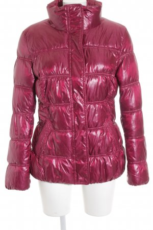 s.Oliver Steppjacke magenta Casual-Look