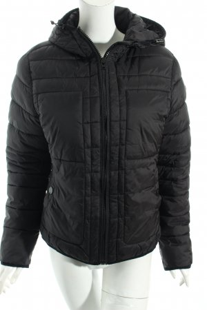 s.Oliver Steppjacke schwarz Steppmuster Casual-Look