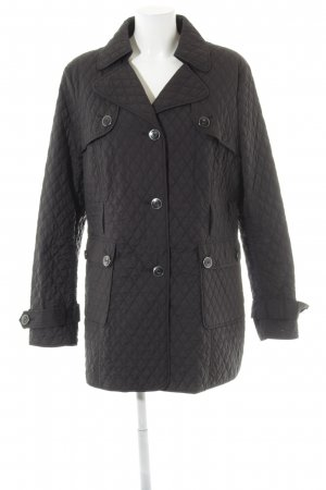 s.Oliver Quilted Jacket black quilting pattern simple style