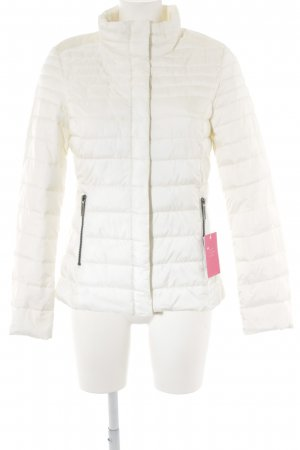 s.Oliver Quilted Jacket natural white quilting pattern casual look