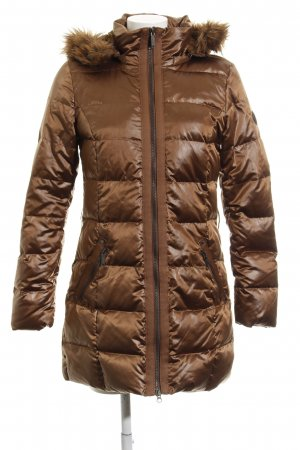 s.Oliver Quilted Coat cognac-coloured casual look