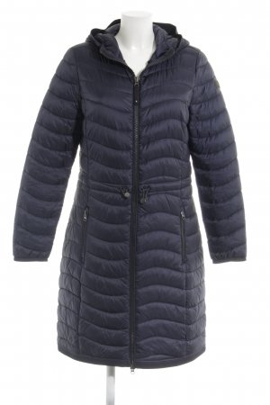 s.Oliver Quilted Coat dark blue casual look