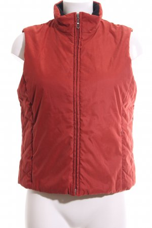 s.Oliver Quilted Gilet red casual look