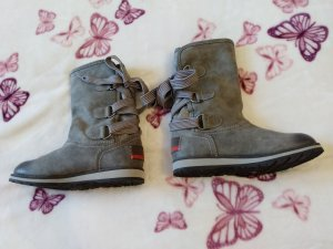 S. Oliver Stiefel Boots grau *GR.  39*