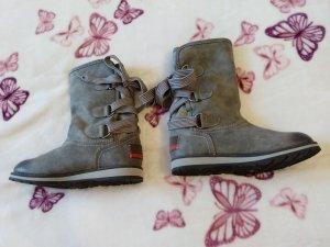 S. Oliver Stiefel Boots grau *GR.  39*