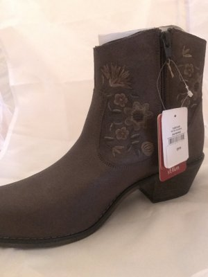 S.Oliver Stiefel in Western-Optik Neu