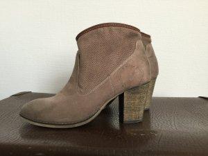 Sir Oliver Slip-on Booties beige-cream imitation leather