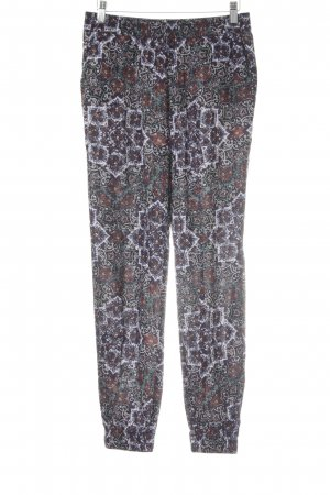 s.Oliver Stoffhose braunrot Mustermix Casual-Look