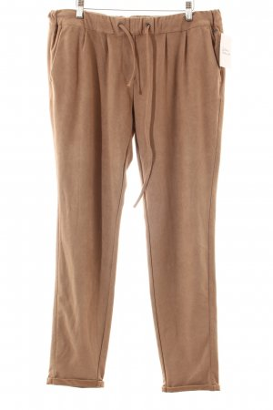 s.Oliver Stoffhose hellbraun Casual-Look
