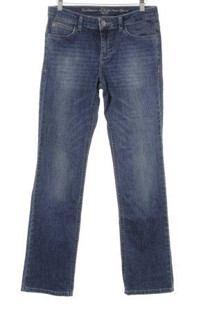 s.Oliver Straight-Leg Jeans blau-blassblau Casual-Look