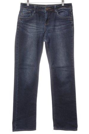 s.Oliver Straight-Leg Jeans blau-dunkelblau Casual-Look