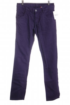 s.Oliver Straight-Leg Jeans brombeerrot-braunviolett Casual-Look