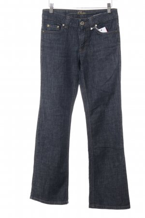 s.Oliver Straight-Leg Jeans dunkelblau Casual-Look