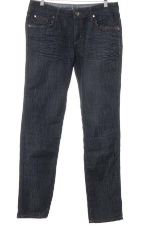 s.Oliver Jeans a gamba dritta blu scuro stile casual