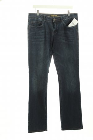 s.Oliver Straight Leg Jeans dark blue classic style