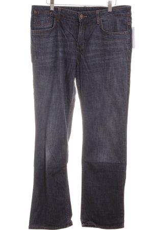 s.Oliver Jeans met rechte pijpen donkerblauw klassieke stijl
