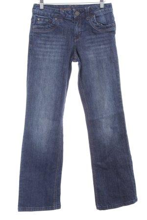 s.Oliver Straight-Leg Jeans dunkelblau schlichter Stil