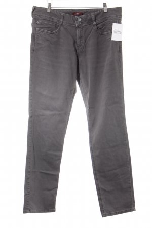 s.Oliver Straight-Leg Jeans grau Casual-Look
