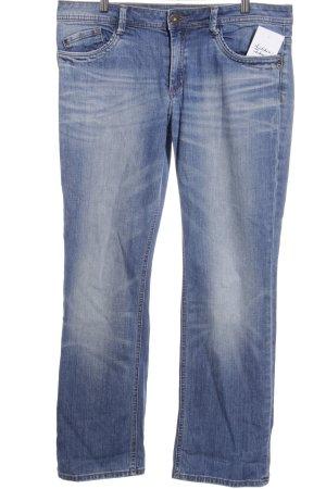 s.Oliver Straight-Leg Jeans graublau-stahlblau Casual-Look