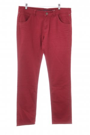 s.Oliver Straight-Leg Jeans karminrot Casual-Look