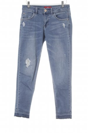 s.Oliver Straight-Leg Jeans kornblumenblau Casual-Look