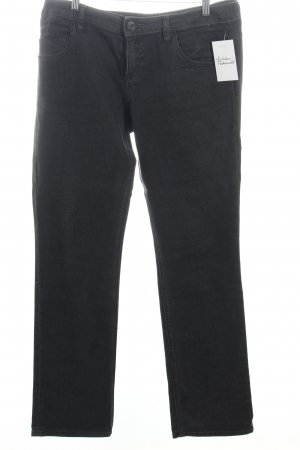s.Oliver Straight-Leg Jeans schwarz Casual-Look