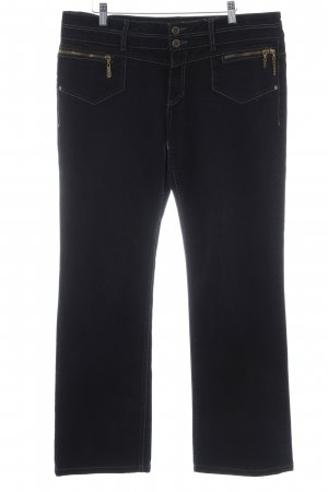 s.Oliver Straight-Leg Jeans schwarz klassischer Stil