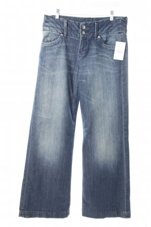 s.Oliver Straight-Leg Jeans stahlblau Washed-Optik